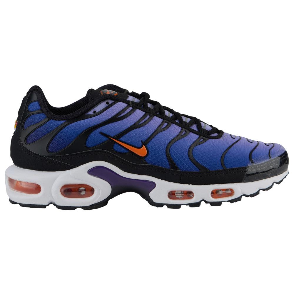 ナイキ Nike メンズ ランニング・ウォーキング シューズ・靴【Air Max Plus】Black/Total Orange/Psychic Purple/Court Purple