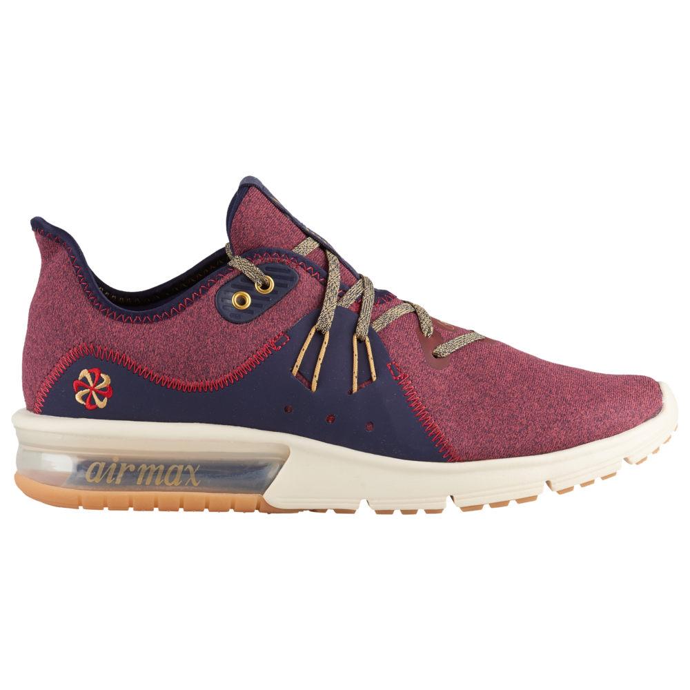 ナイキ Nike メンズ ランニング・ウォーキング シューズ・靴【Air Max Sequent 3】Red Crush/Wheat Gold/Blackened Blue/Light Cream