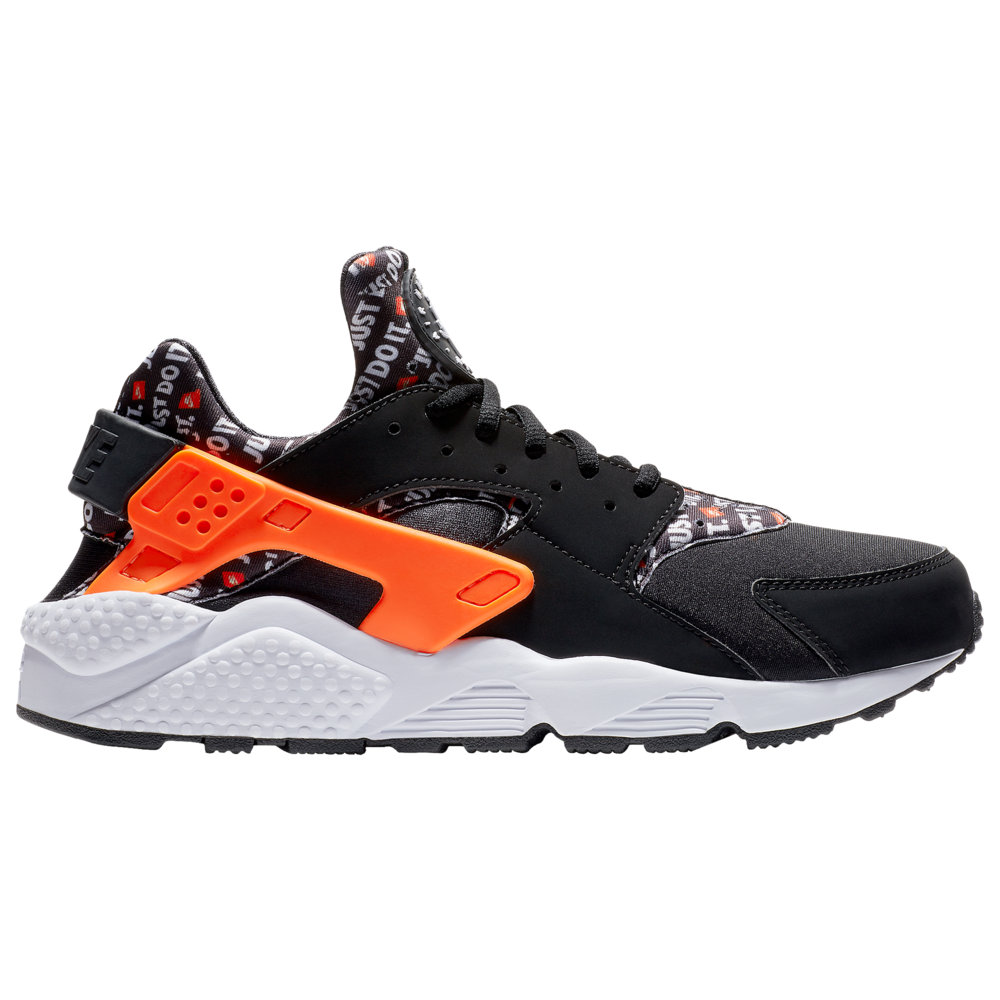 ナイキ Nike メンズ ランニング・ウォーキング シューズ・靴【Air Huarache】Black/Total Orange/White JDI