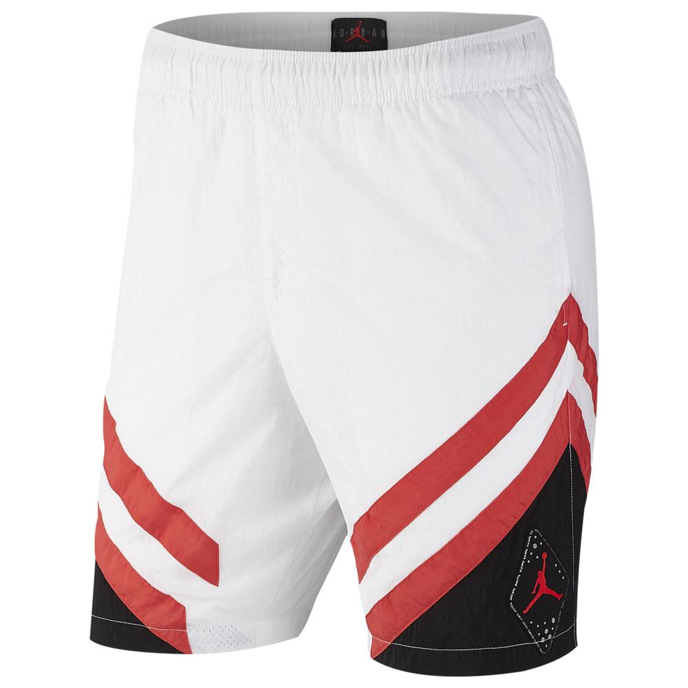 ナイキ ジョーダン Jordan メンズ バスケットボール ボトムス・パンツ【Retro 6 Nylon Shorts】White/Black/Ember Glow
