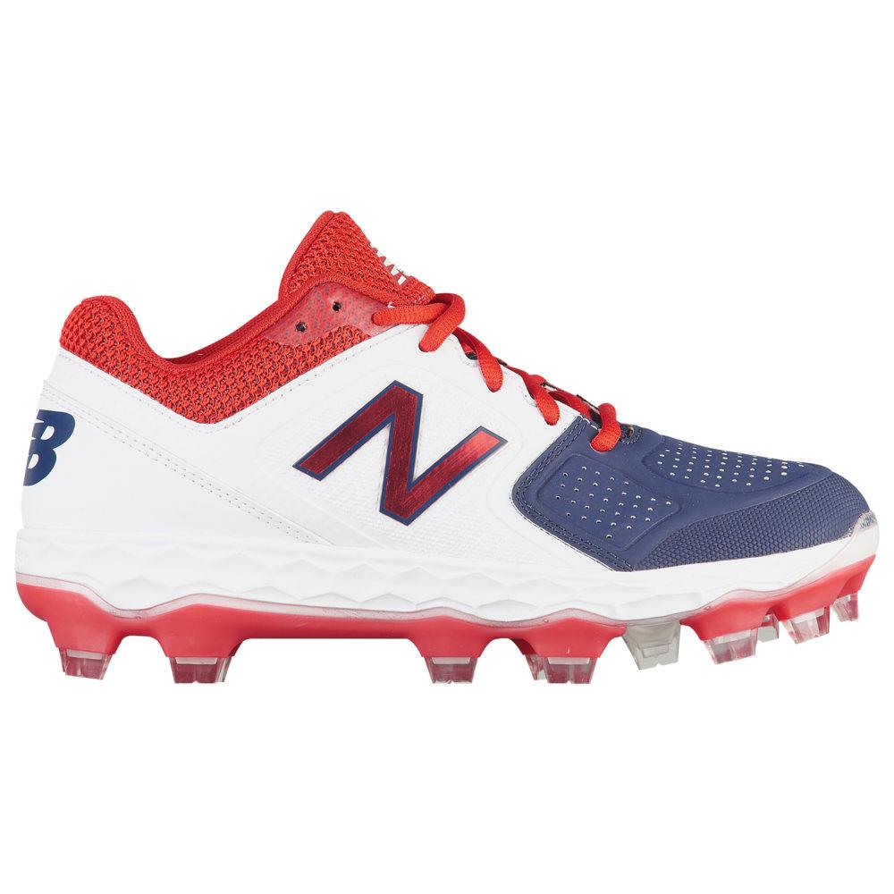 ニューバランス New Balance レディース 野球 シューズ・靴【SPVELOv1 TPU Low】Red/White/Blue