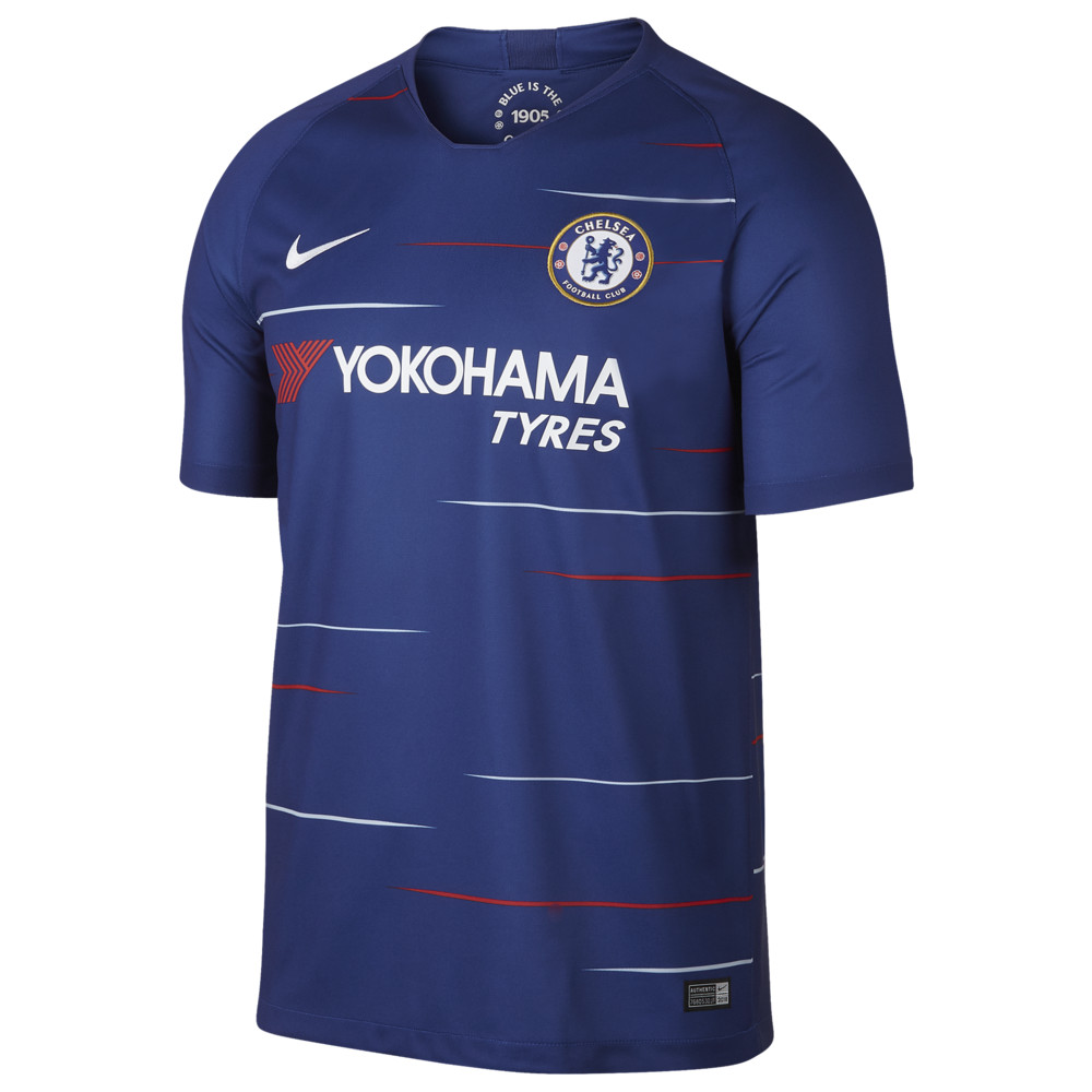 ナイキ Nike メンズ サッカー トップス【Soccer Breathe Stadium Jersey】World Soccer Chelsea Rush Blue/White Home