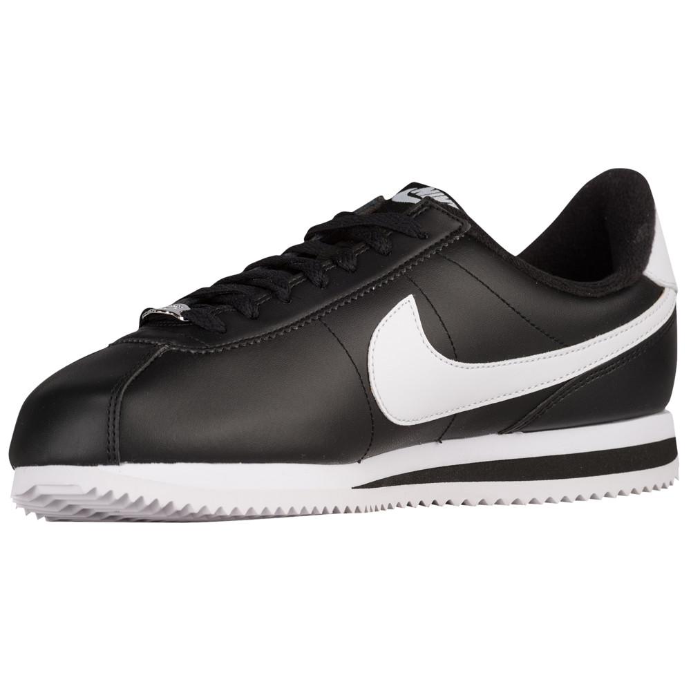 ナイキ Nike メンズ ランニング・ウォーキング シューズ・靴【Cortez】Black/Metallic Silver/White Leather