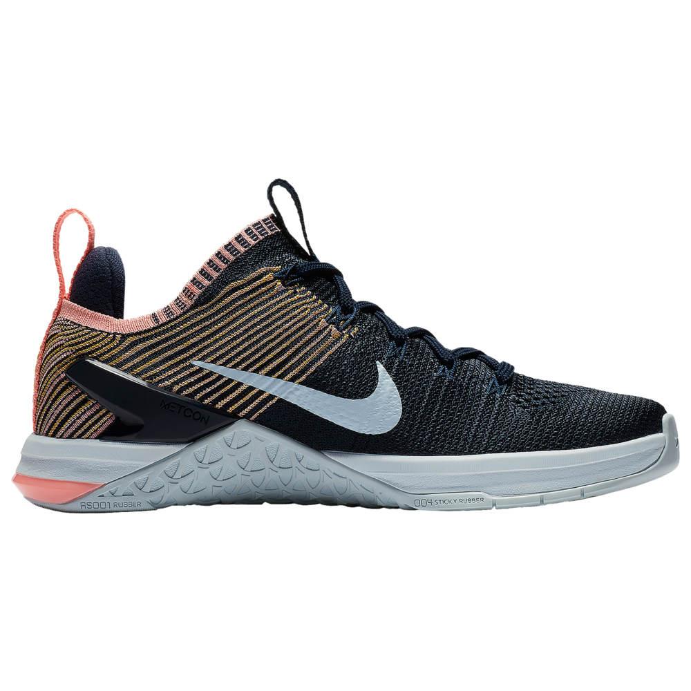 ナイキ Nike レディース フィットネス・トレーニング シューズ・靴【Metcon DSX Flyknit 2】College Navy/Blue Tint/Pink Tint/Amarillo