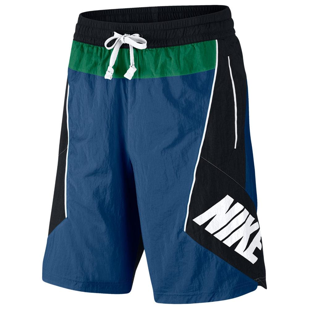 ナイキ Nike メンズ バスケットボール ボトムス・パンツ【Throwback Shorts】Court Blue/Black/Pine Green
