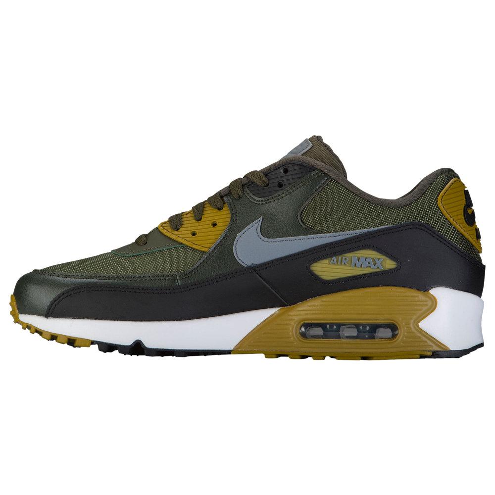 ナイキ Nike メンズ ランニング・ウォーキング シューズ・靴【Air Max 90】Cargo Khaki/Cool Grey/Black/Sequoia Essential