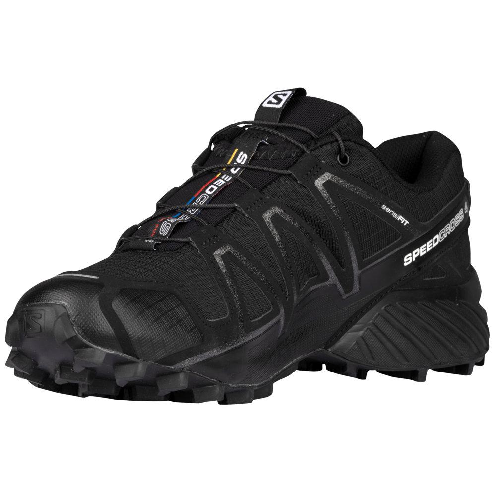 サロモン Salomon メンズ ランニング・ウォーキング シューズ・靴【Speedcross 4】Black/Black Metallic