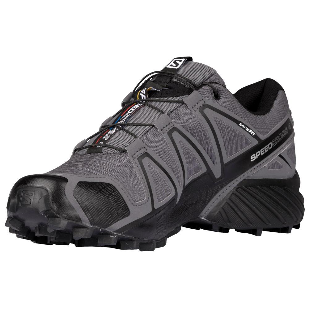 サロモン Salomon メンズ ランニング・ウォーキング シューズ・靴【Speedcross 4】Dark Cloud/Black/Pearl Grey