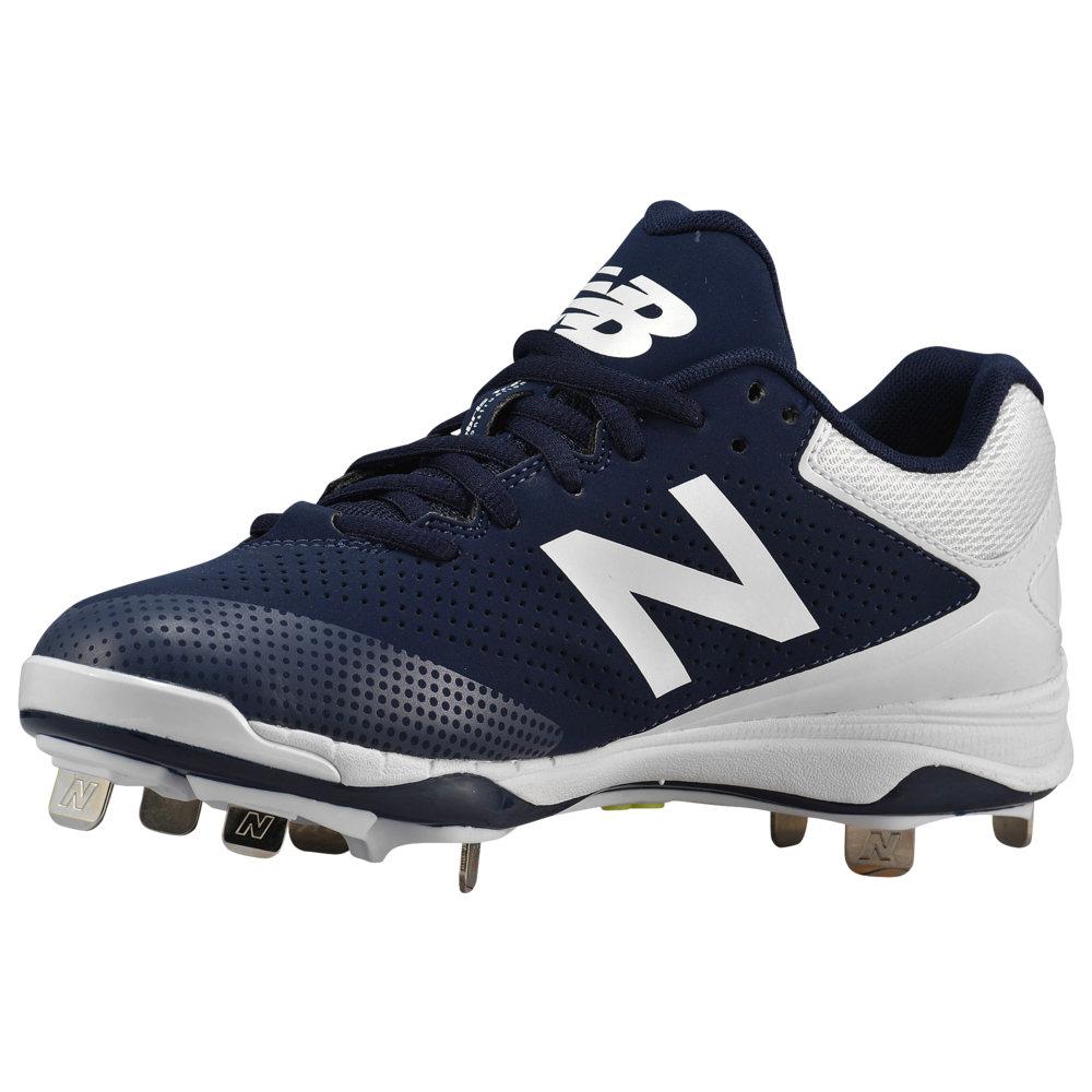 ニューバランス New Balance レディース 野球 シューズ・靴【4040v1 Metal Low】Navy/White