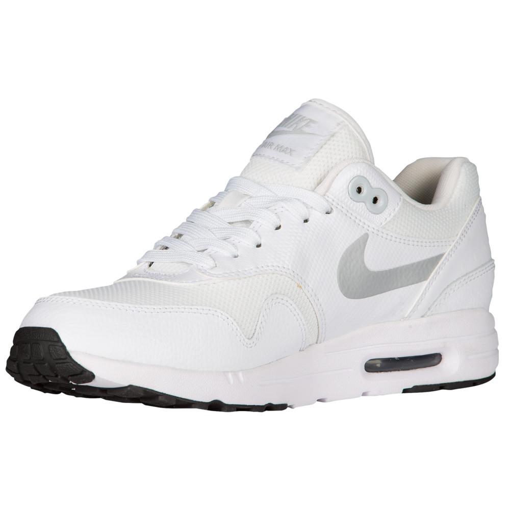 ナイキ Nike レディース ランニング・ウォーキング シューズ・靴【Air Max 1 Ultra 2.0】White/Metallic Platinum/Black/White Essentials