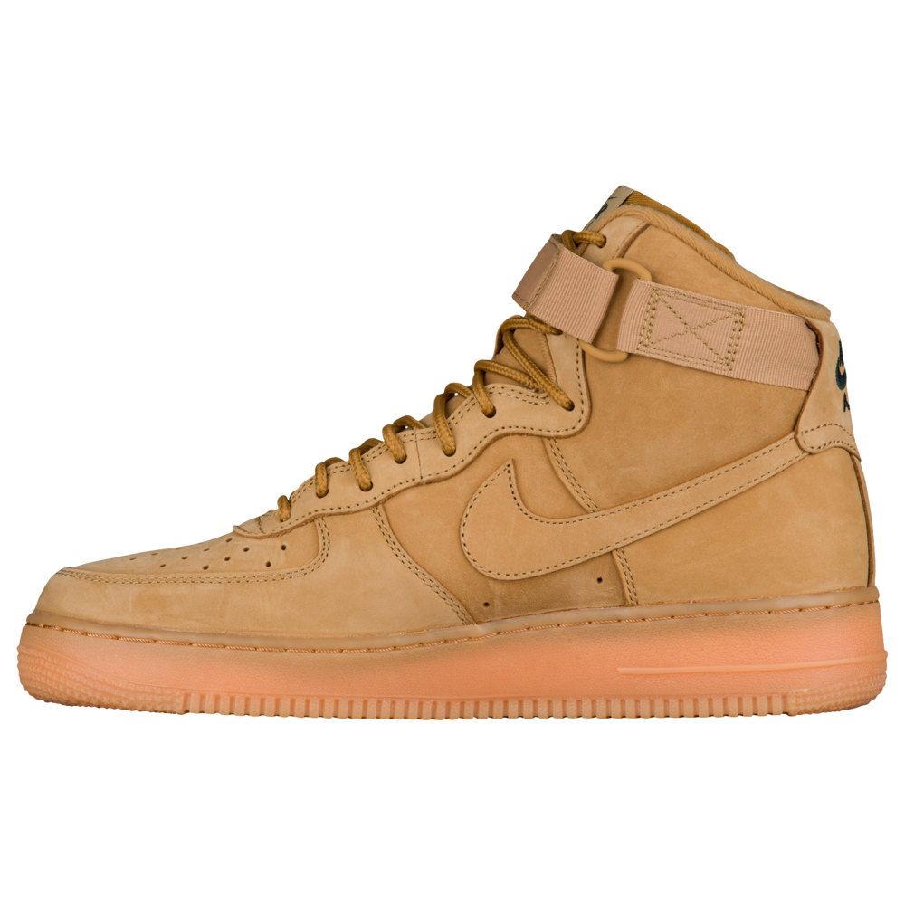 ナイキ Nike メンズ シューズ・靴 スニーカー【Air Force 1 High LV8】Flax/Outdoor Green/Gum Light Brown/Flax WB