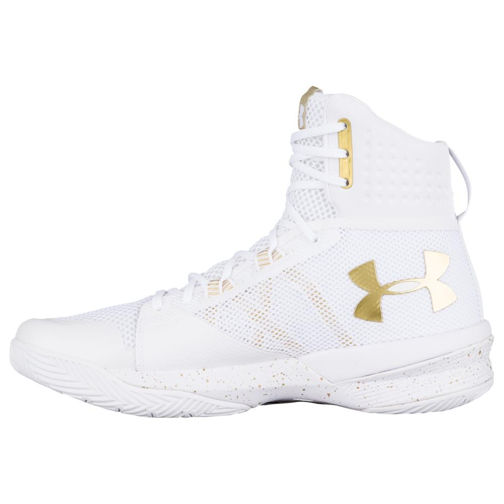 アンダーアーマー Under Armour レディース バレーボール シューズ・靴【Highlight Ace】White/Metallic Gold
