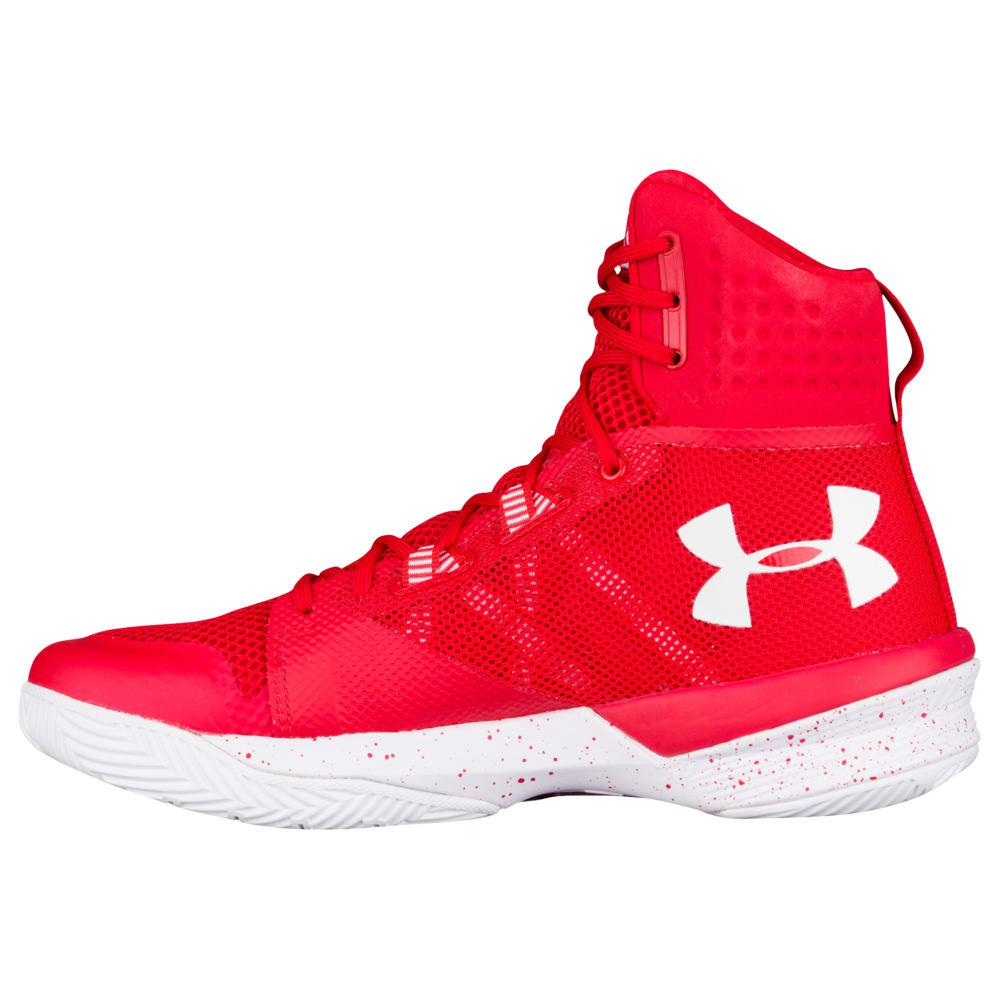 アンダーアーマー Under Armour レディース バレーボール シューズ・靴【Highlight Ace】Red/White