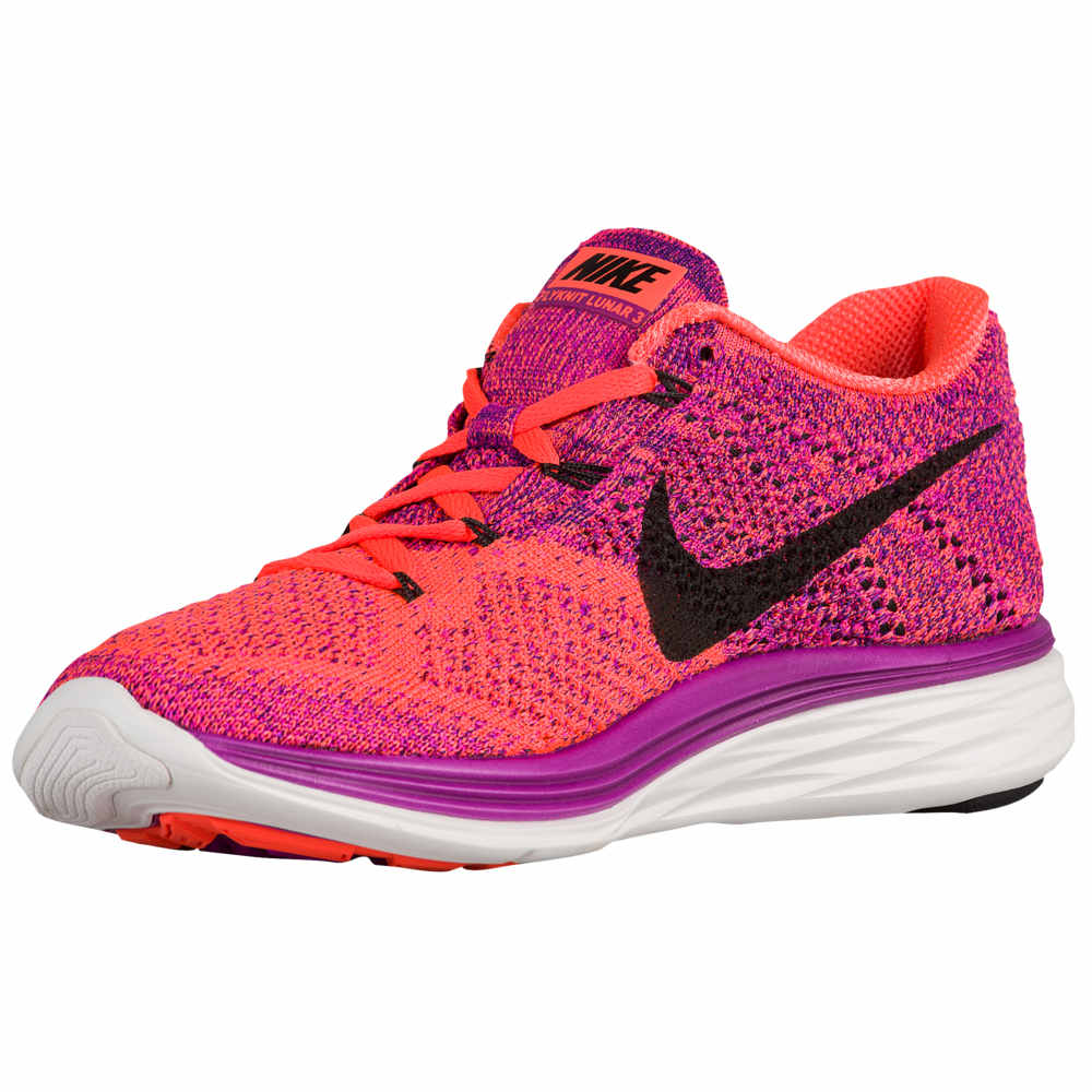 新入荷 ナイキ Nike レディース レディース ランニング 3】Vivid・ウォーキング シューズ・靴 Purple/Hyper【Flyknit Lunar 3】Vivid Purple/Hyper Orange/Court Purple/Black, かごや:17c8cff1 --- clftranspo.dominiotemporario.com