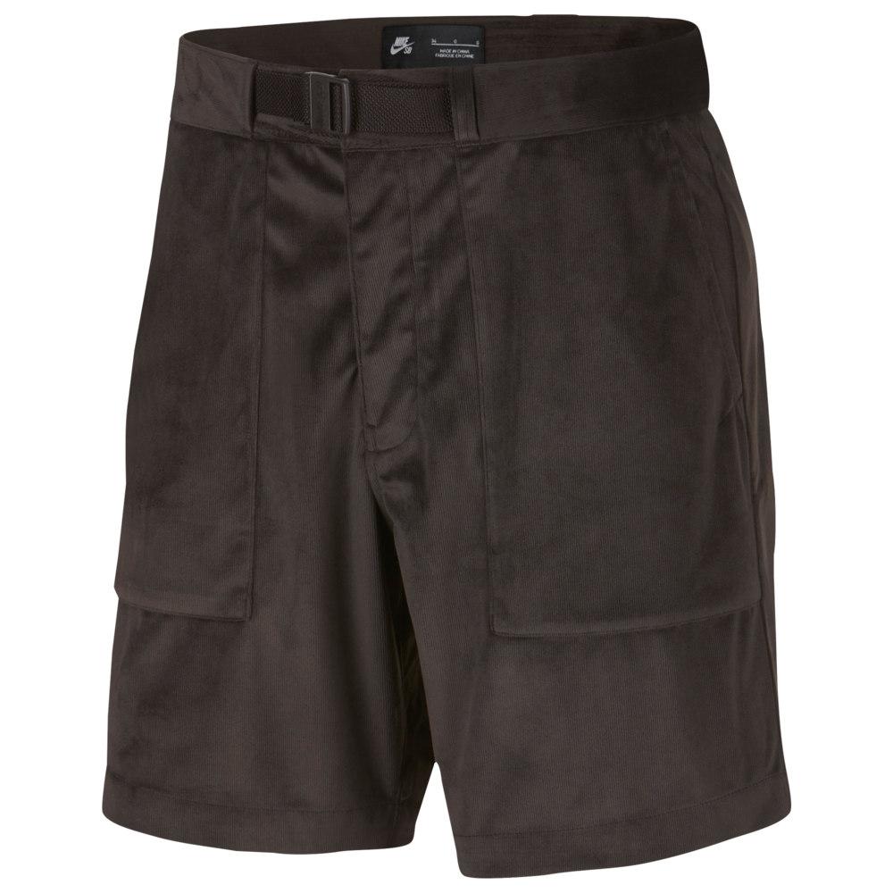ナイキ Nike SB メンズ ボトムス・パンツ ショートパンツ【Dry Corduroy Shorts】Velvet Brown/Red Crush