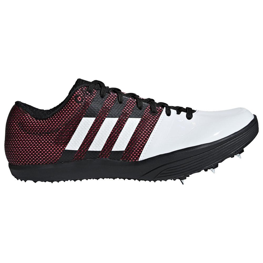 アディダス adidas メンズ 陸上 シューズ・靴【adiZero LJ】White/Core Black/Shock Red
