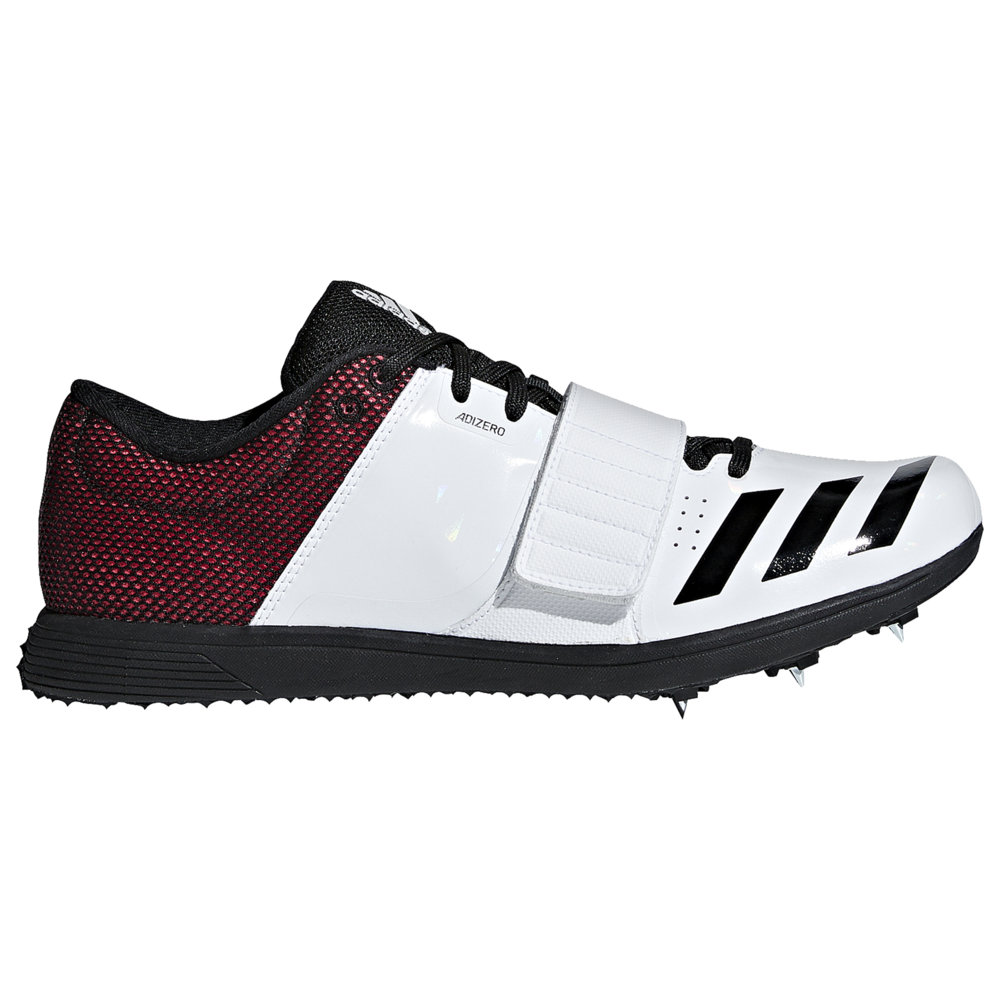 アディダス adidas メンズ 陸上 シューズ・靴【adiZero TJ/PV】White/Core Black/Shock Red