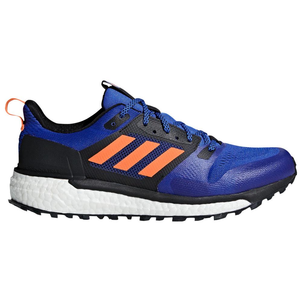 アディダス adidas メンズ ランニング・ウォーキング シューズ・靴【Supernova Trail Boost】Hi Res Blue/Hi Res Orange/Black