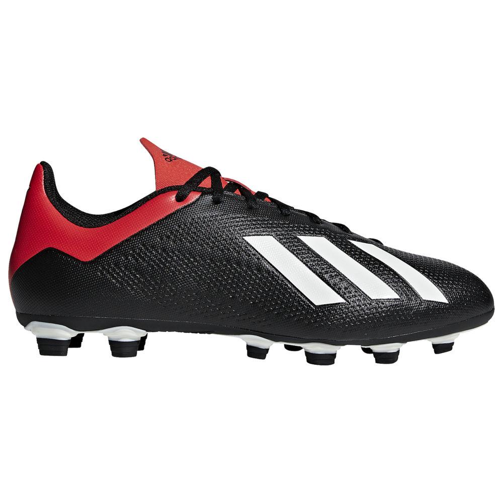 アディダス adidas メンズ サッカー シューズ・靴【X 18.4 FG】Core Black/Off White/Active Red