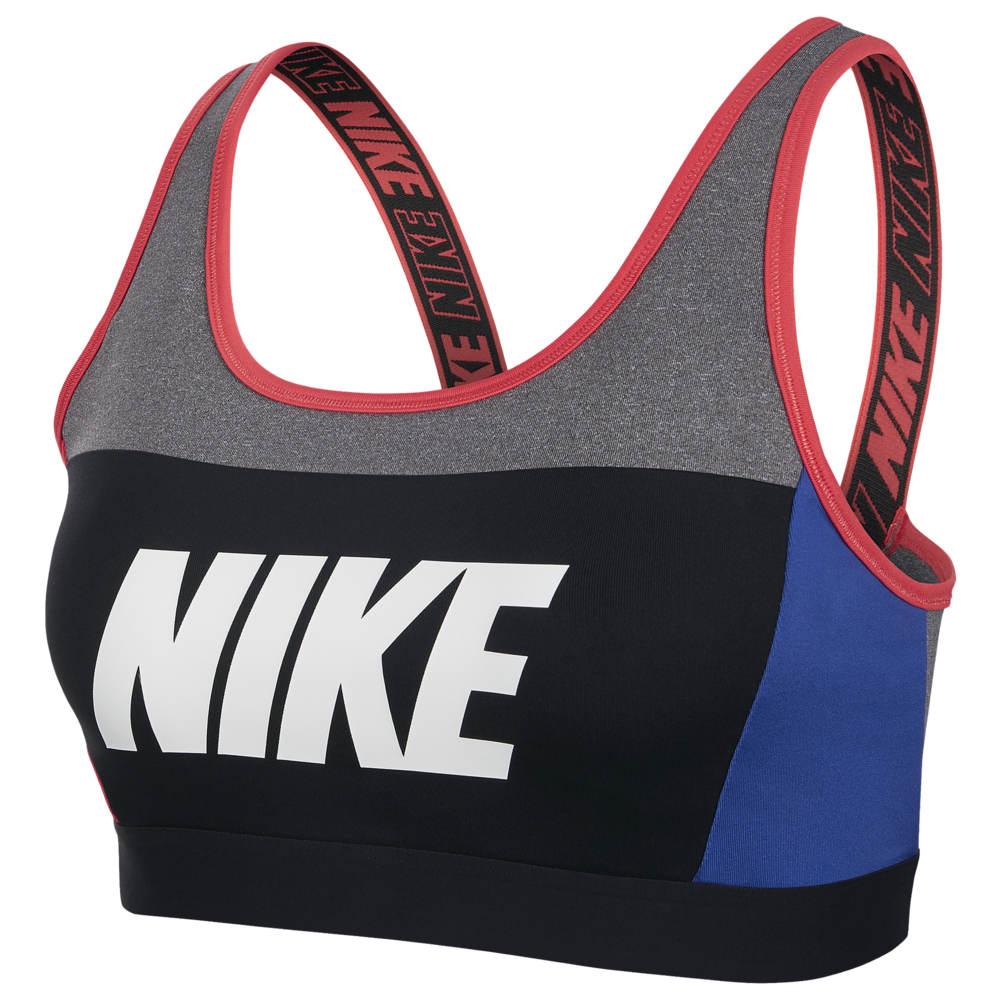 ナイキ Nike レディース インナー・下着 スポーツブラ【Sport Distort Classic Bra】Carbon Heather/Game Royal