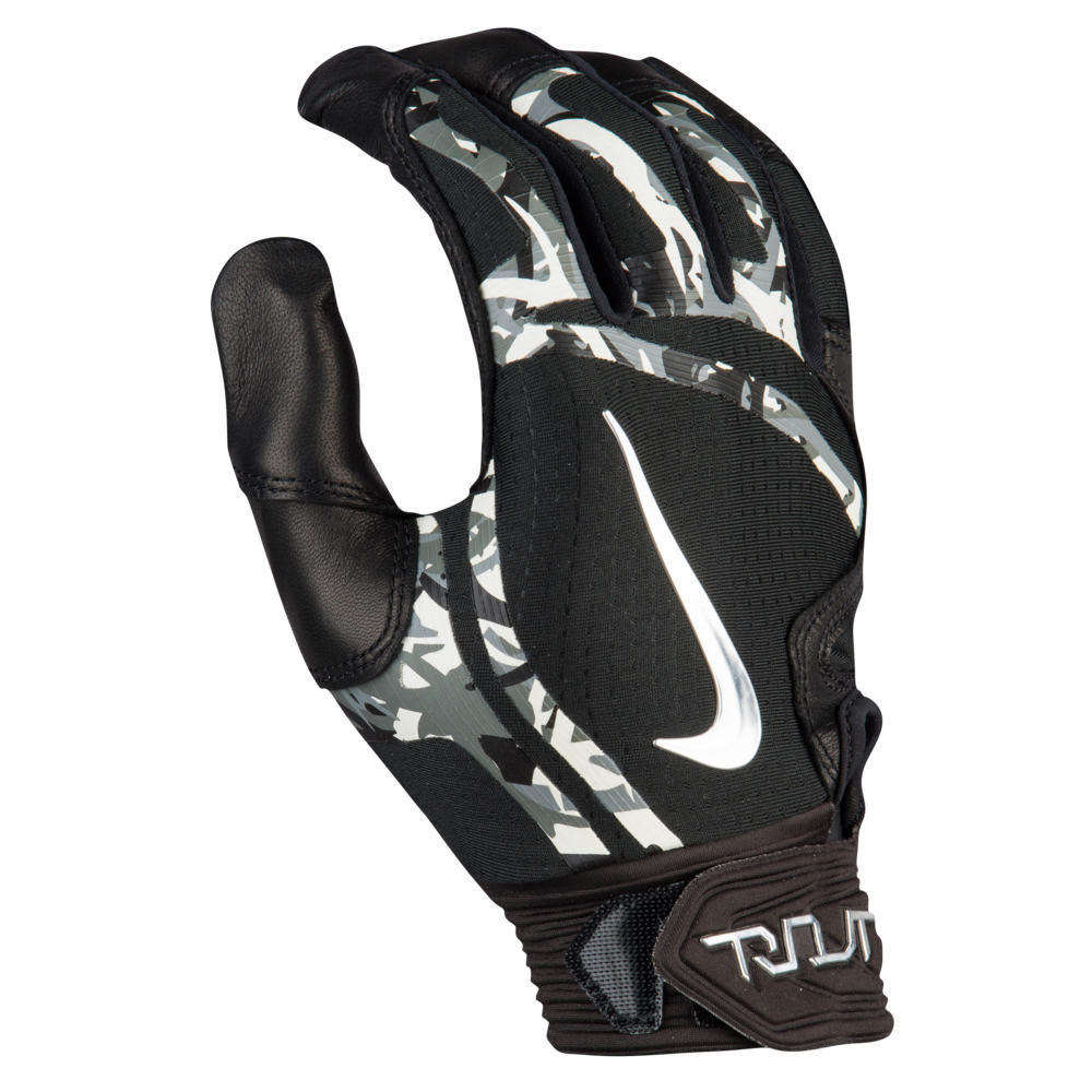 ナイキ Nike メンズ 野球 グローブ【Trout Elite Batting Gloves】Black/Black/Chrome