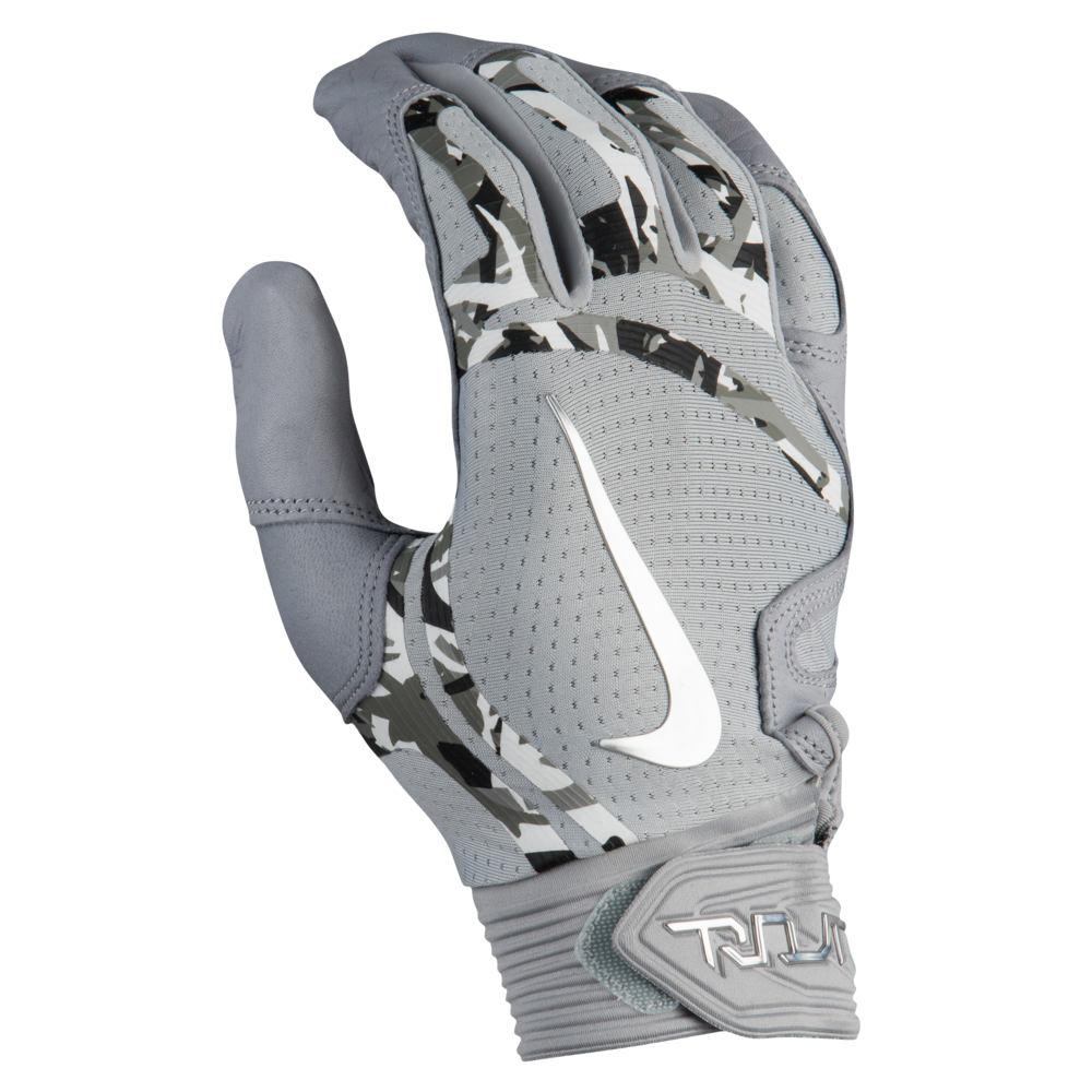 ナイキ Nike メンズ 野球 グローブ【Trout Elite Batting Gloves】Wolf Grey/Wolf Grey/Chrome