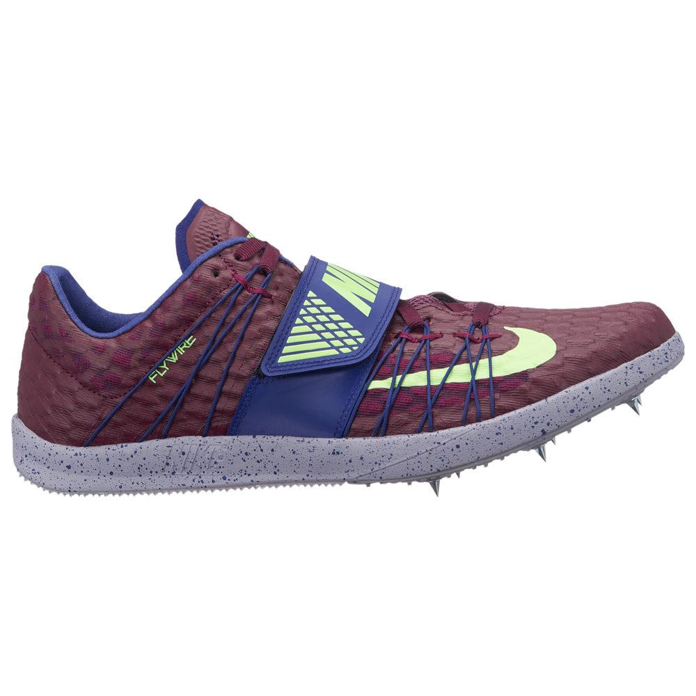 ナイキ Nike メンズ 陸上 シューズ・靴【Zoom TJ Elite】Bordeaux/Lime Blast/Regency Purple/Provence Purple