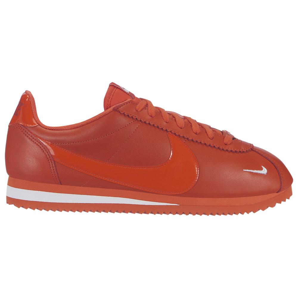 ナイキ Nike レディース ランニング・ウォーキング シューズ・靴【Classic Cortez Premium】Team Orange/Team Orange/White