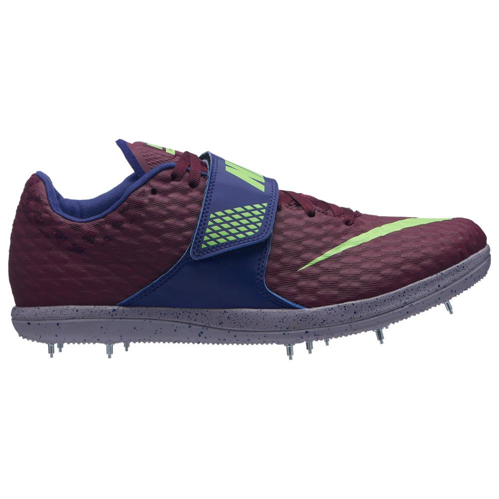 ナイキ Nike メンズ 陸上 シューズ・靴【Zoom HJ Elite】Bordeaux/Lime Blast/Regency Purple/Provence Purple