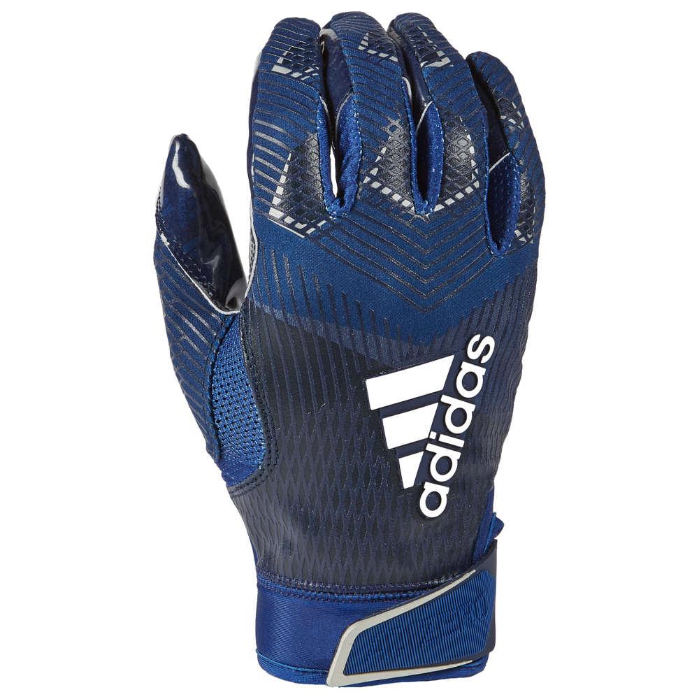 アディダス adidas メンズ アメリカンフットボール グローブ【adiZero 5-Star 8.0 Receiver Glove】Navy/Metallic Silver