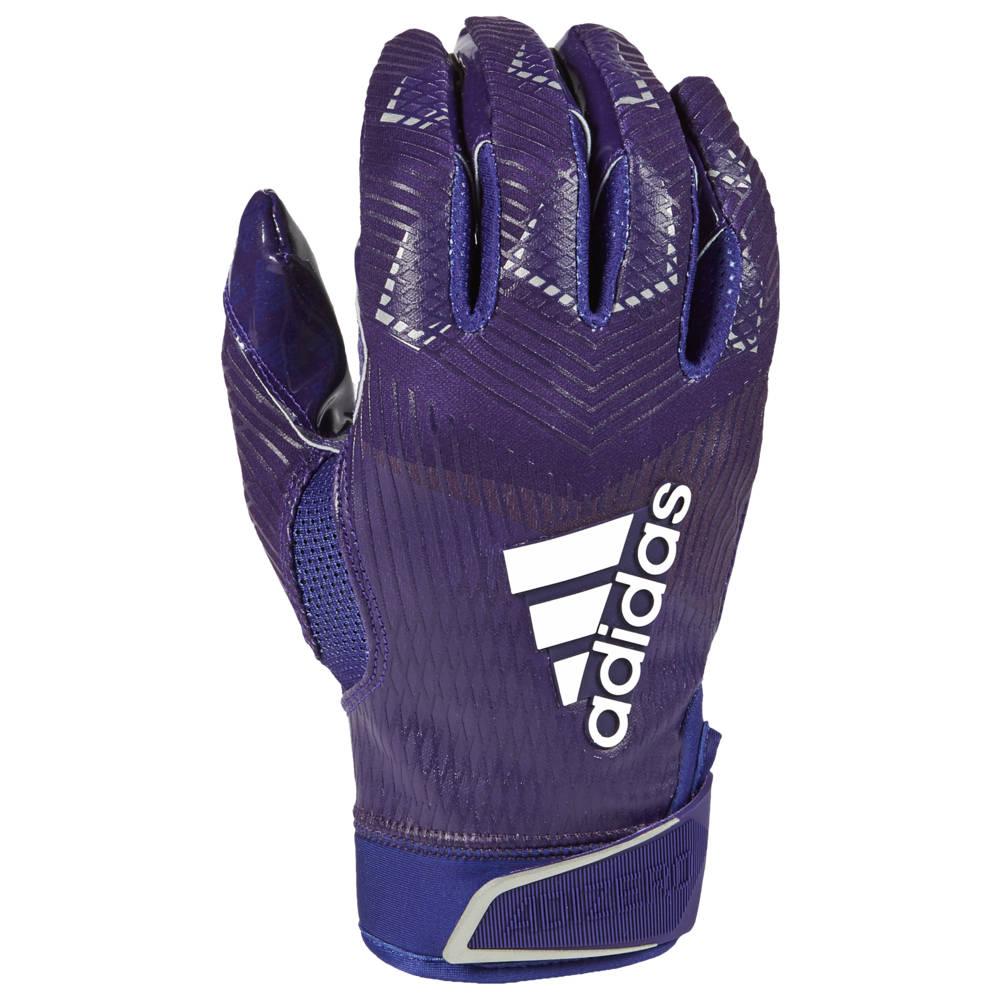 アディダス adidas メンズ アメリカンフットボール グローブ【adiZero 5-Star 8.0 Receiver Glove】Purple/Metallic Silver