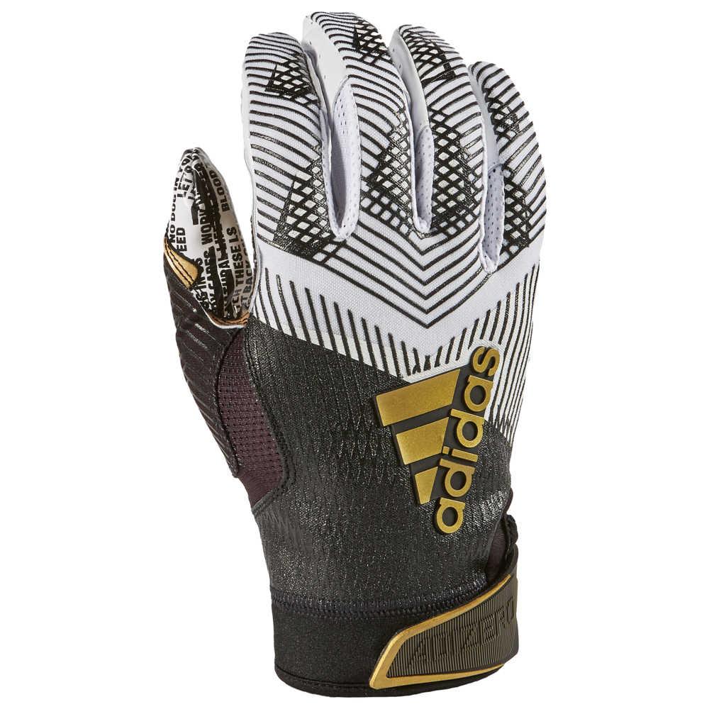 アディダス adidas メンズ アメリカンフットボール グローブ【adiZero 5-Star 8.0 Receiver Glove】White/Black