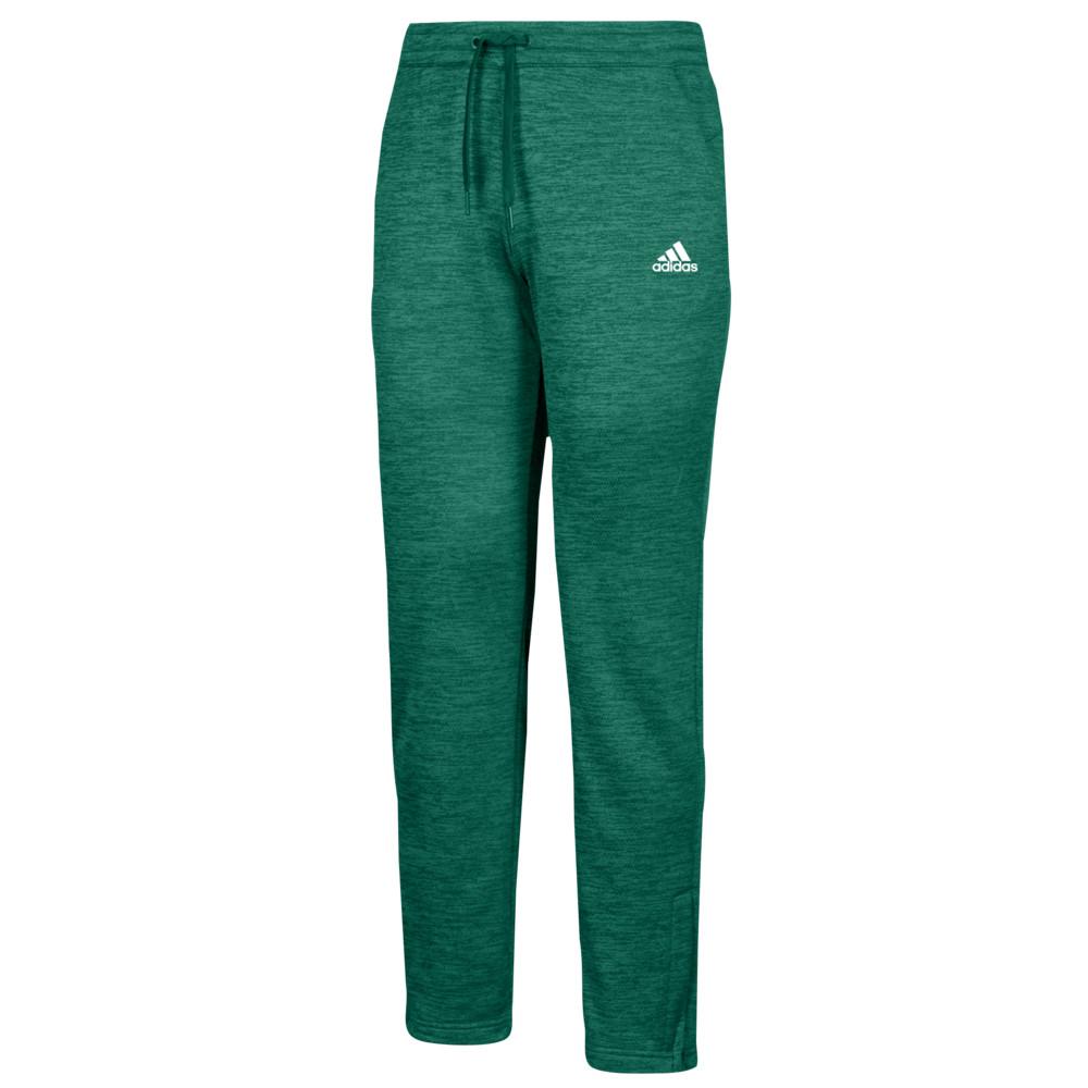 アディダス Issue adidas レディース ボトムス・パンツ【Team Issue Fleece Green/White Pants Pants】Dark】Dark Green/White, アンナのお店:ea323a6e --- sunward.msk.ru