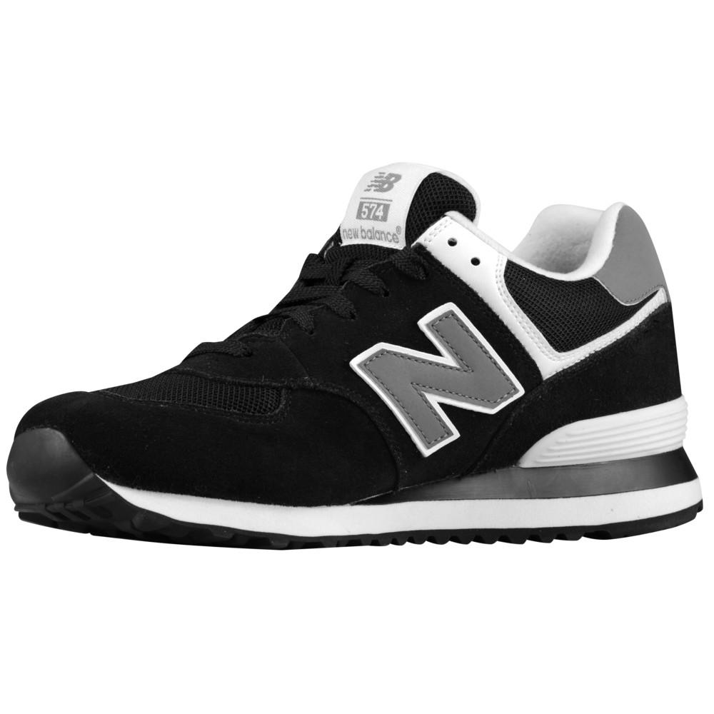 ニューバランス New Balance メンズ ランニング・ウォーキング シューズ・靴【574】Black