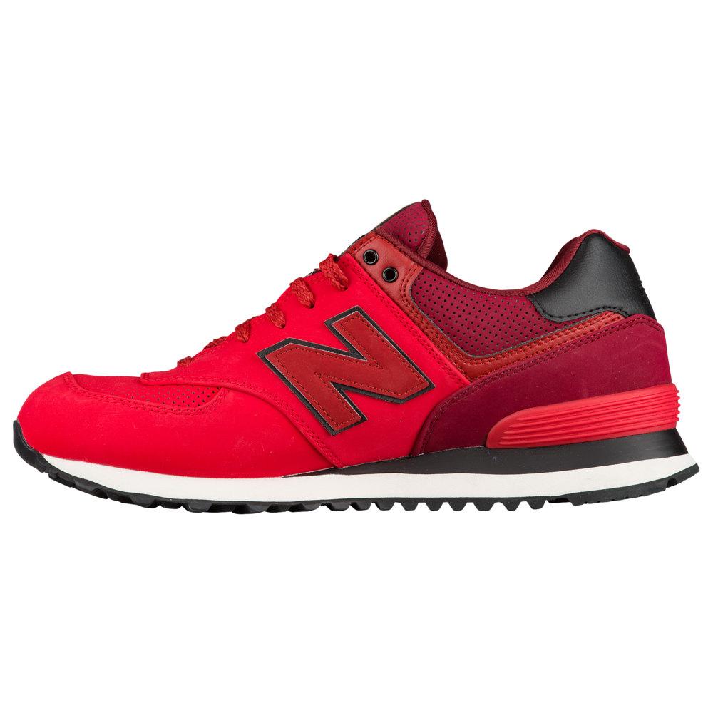 ニューバランス New Balance メンズ ランニング・ウォーキング シューズ・靴【574】Chinese Red/Mercury Red