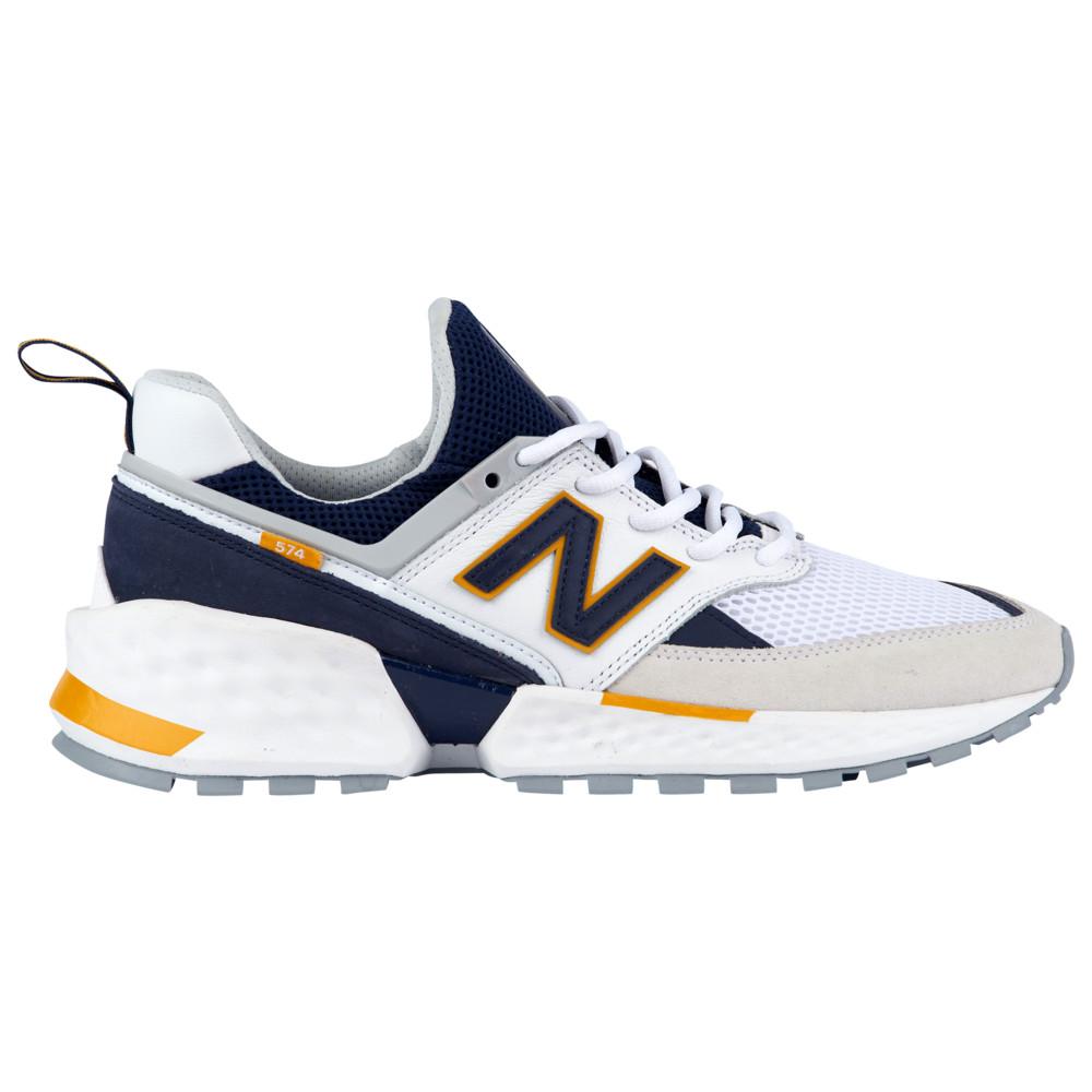 ニューバランス New Balance メンズ ランニング・ウォーキング シューズ・靴【574 V2】White/Pigment