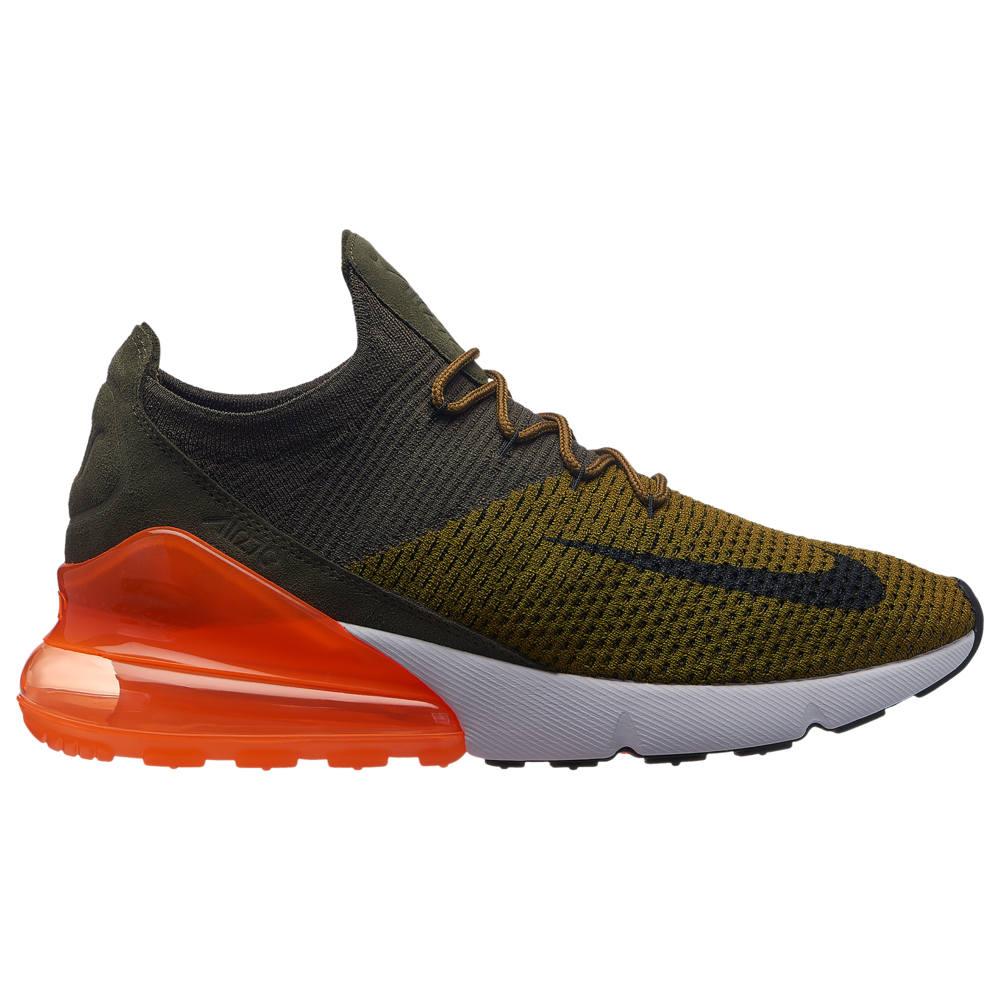 ナイキ Nike メンズ ランニング・ウォーキング シューズ・靴【Air Max 270 Flyknit】Olive Flak/Black/Cargo Khaki