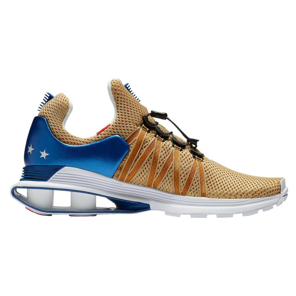 ナイキ Nike メンズ ランニング・ウォーキング シューズ・靴【Shox Gravity】Metallic Gold/Speed Red/White/Gym Blue