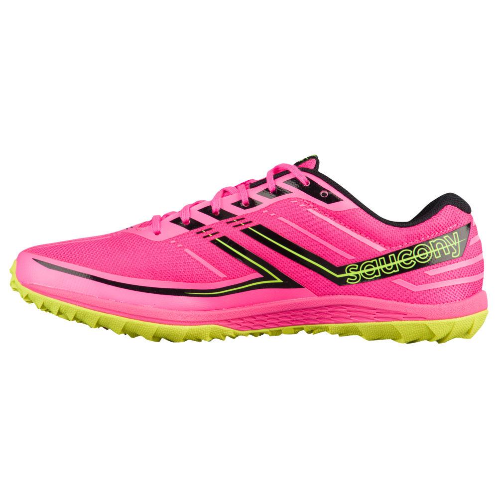 サッカニー Saucony レディース 陸上 シューズ・靴【Kilkenny XC7 Flat】Vizi Pink/Citron