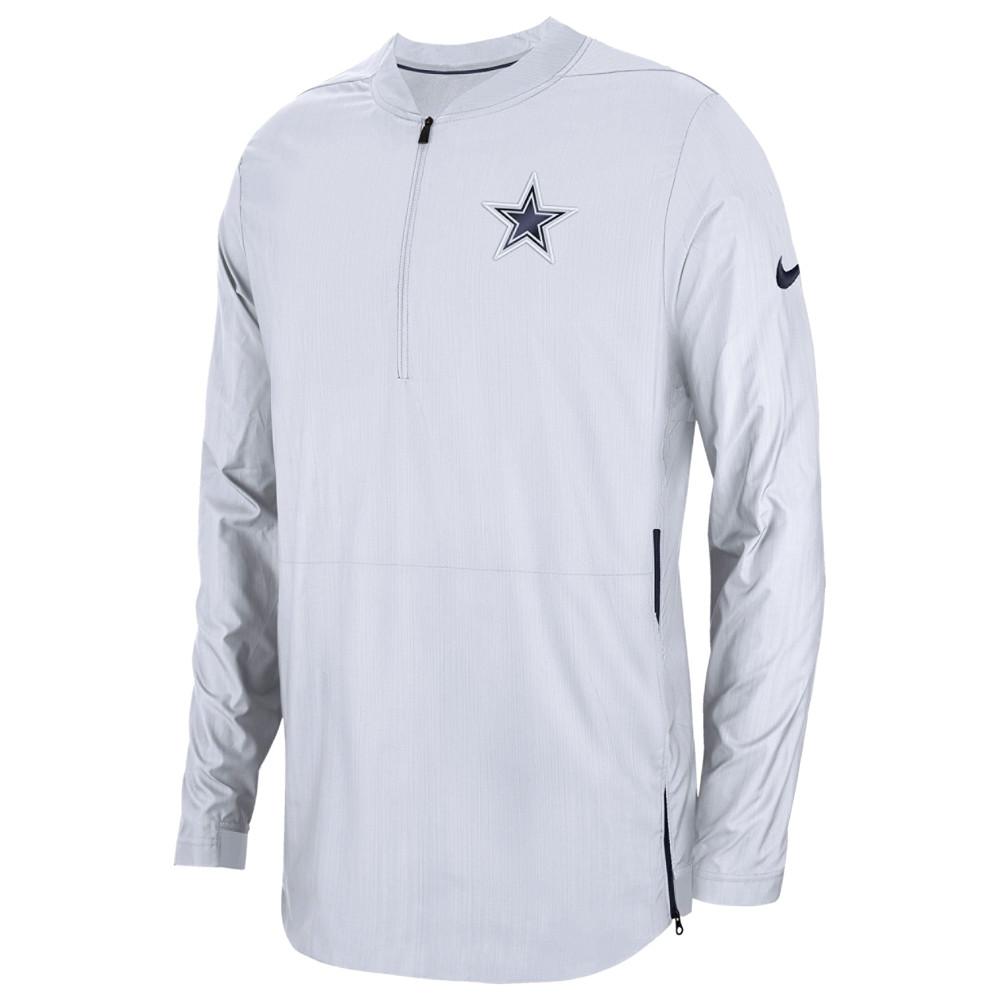 ナイキ Nike メンズ トップス【NFL Lockdown 1/2 Zip Top】NFL Dallas Cowboys White