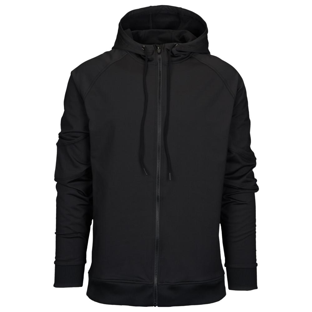 イーストベイ Eastbay メンズ フィットネス・トレーニング トップス【EVAPOR Premium Full Zip Hoodie】Black