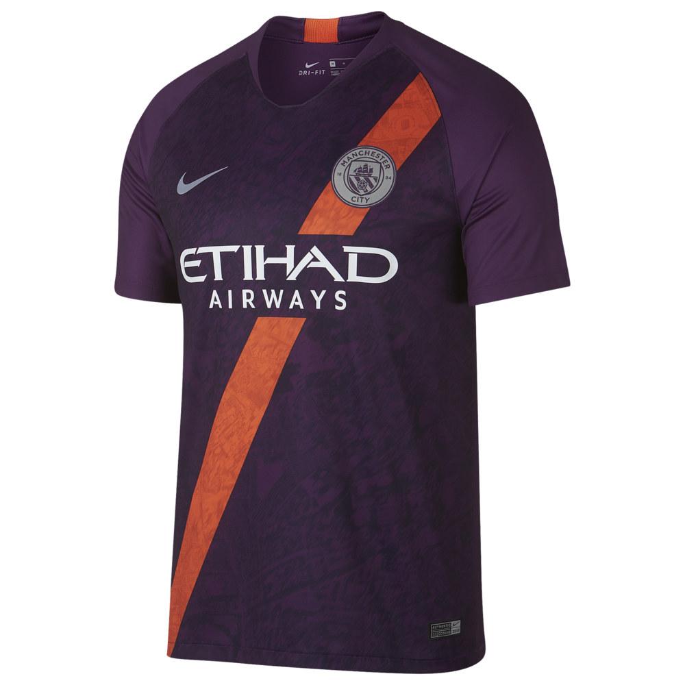 ナイキ Nike メンズ サッカー トップス【Soccer Breathe Stadium Jersey】World Soccer Manchester City Night Purple Road