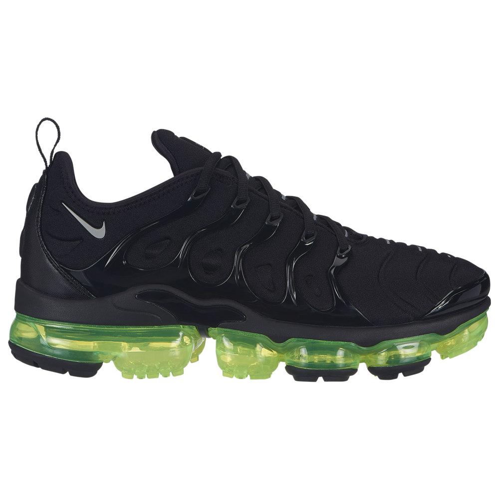 ナイキ Nike メンズ ランニング・ウォーキング シューズ・靴【Air Vapormax Plus】Black/Reflect Silver/Volt available to ship mid March