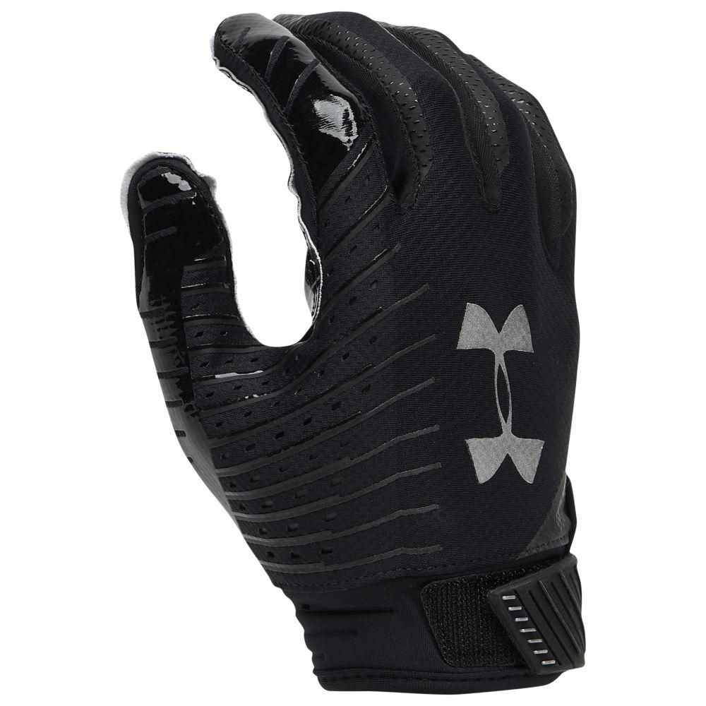 アンダーアーマー Under Armour メンズ アメリカンフットボール グローブ【Spotlight NFL Receiver Gloves】Black/White