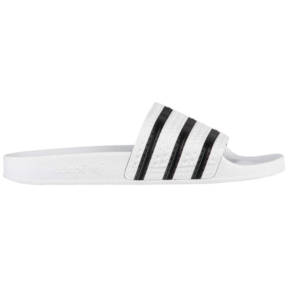 アディダス adidas Originals メンズ シューズ メンズ・靴 アディダス サンダル【Adilette adidas】White/Black/White, HoneyBoo(ハニーブー):cdd1c1c1 --- sunward.msk.ru