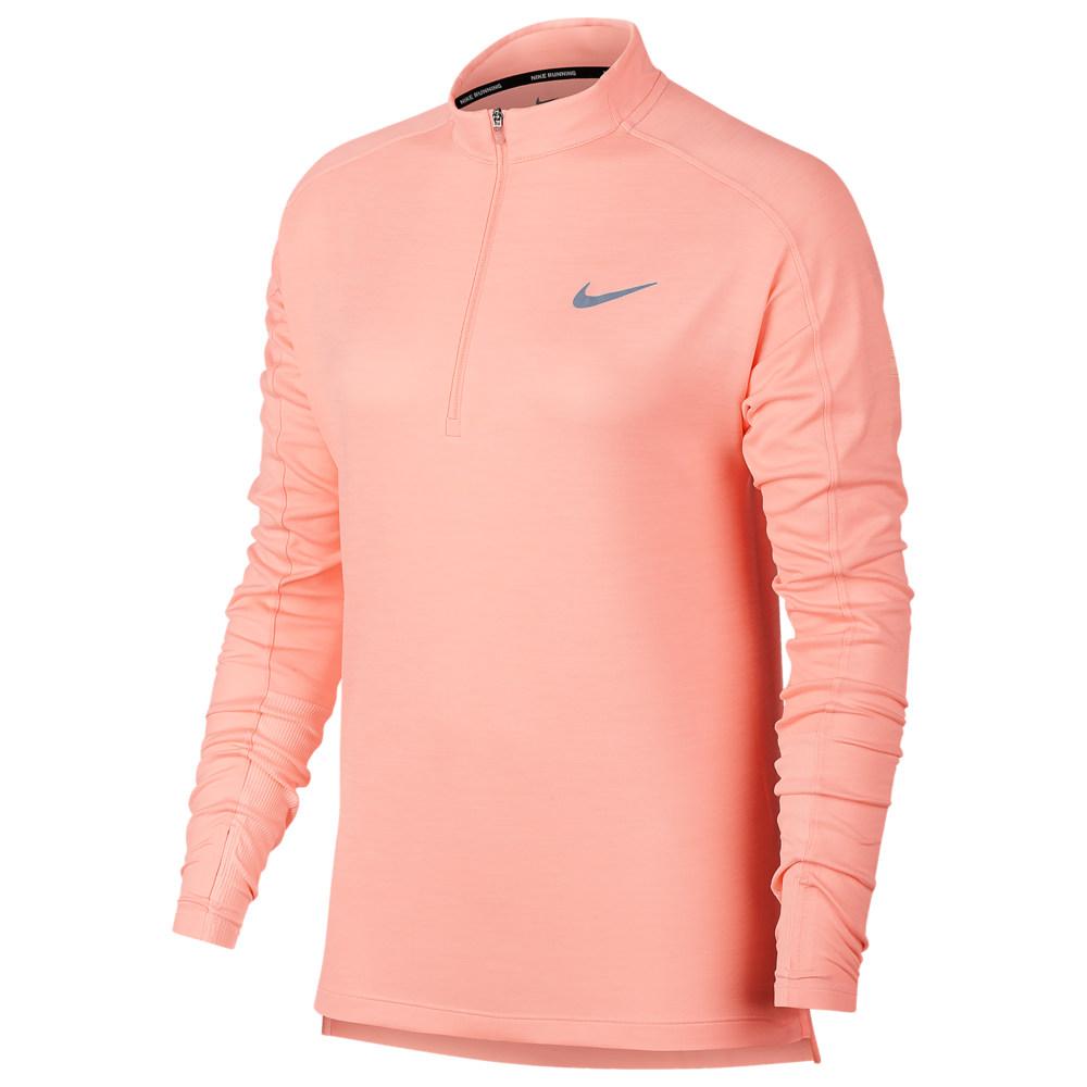ナイキ Nike レディース ランニング・ウォーキング トップス【Pacer 1/2 Zip Top】Storm Pink/Heather/Guava Ice