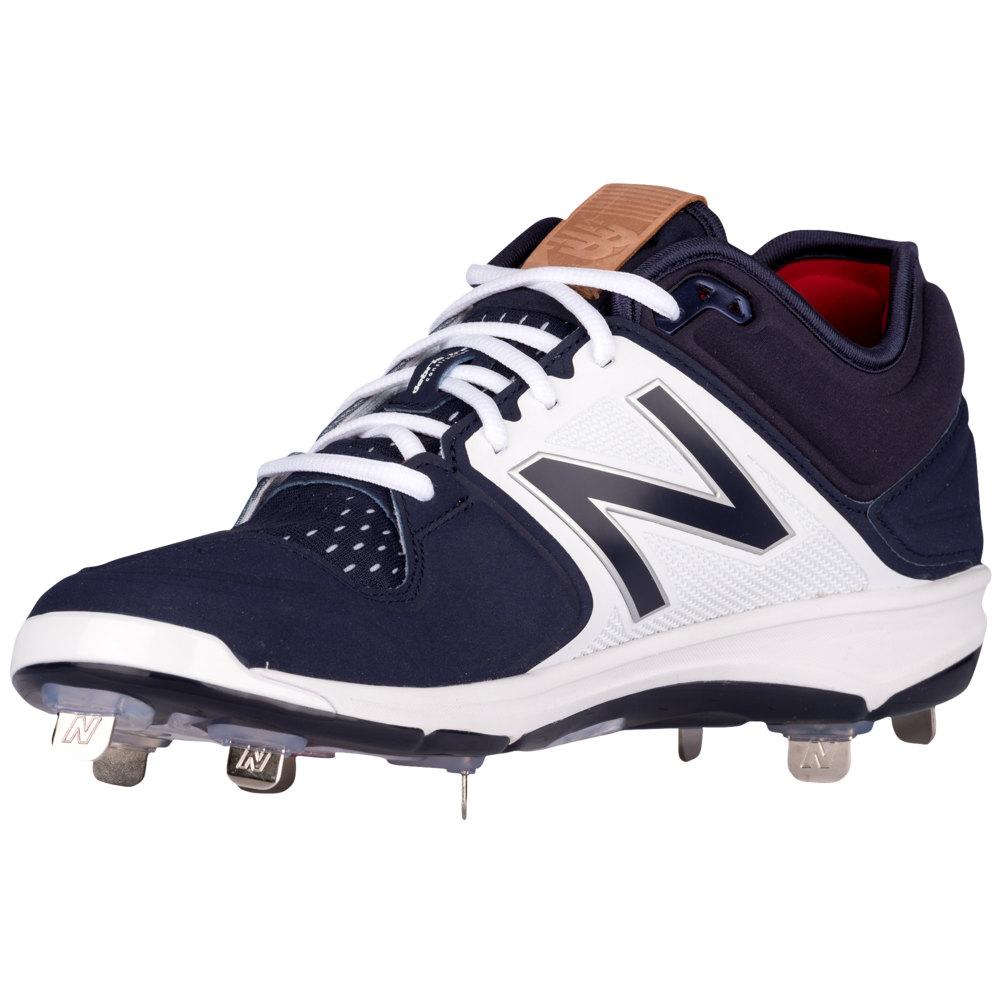 ニューバランス New Balance メンズ 野球 シューズ・靴【3000V3 Metal Low】Navy/White