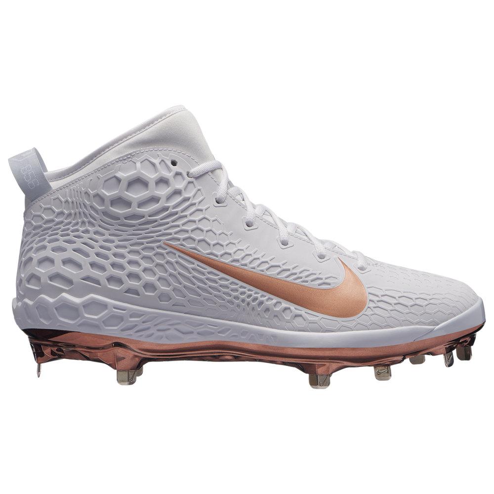 ナイキ Nike メンズ 野球 シューズ・靴【Force Zoom Trout 5】White/Metallic Red Bronze/Pure Platinum