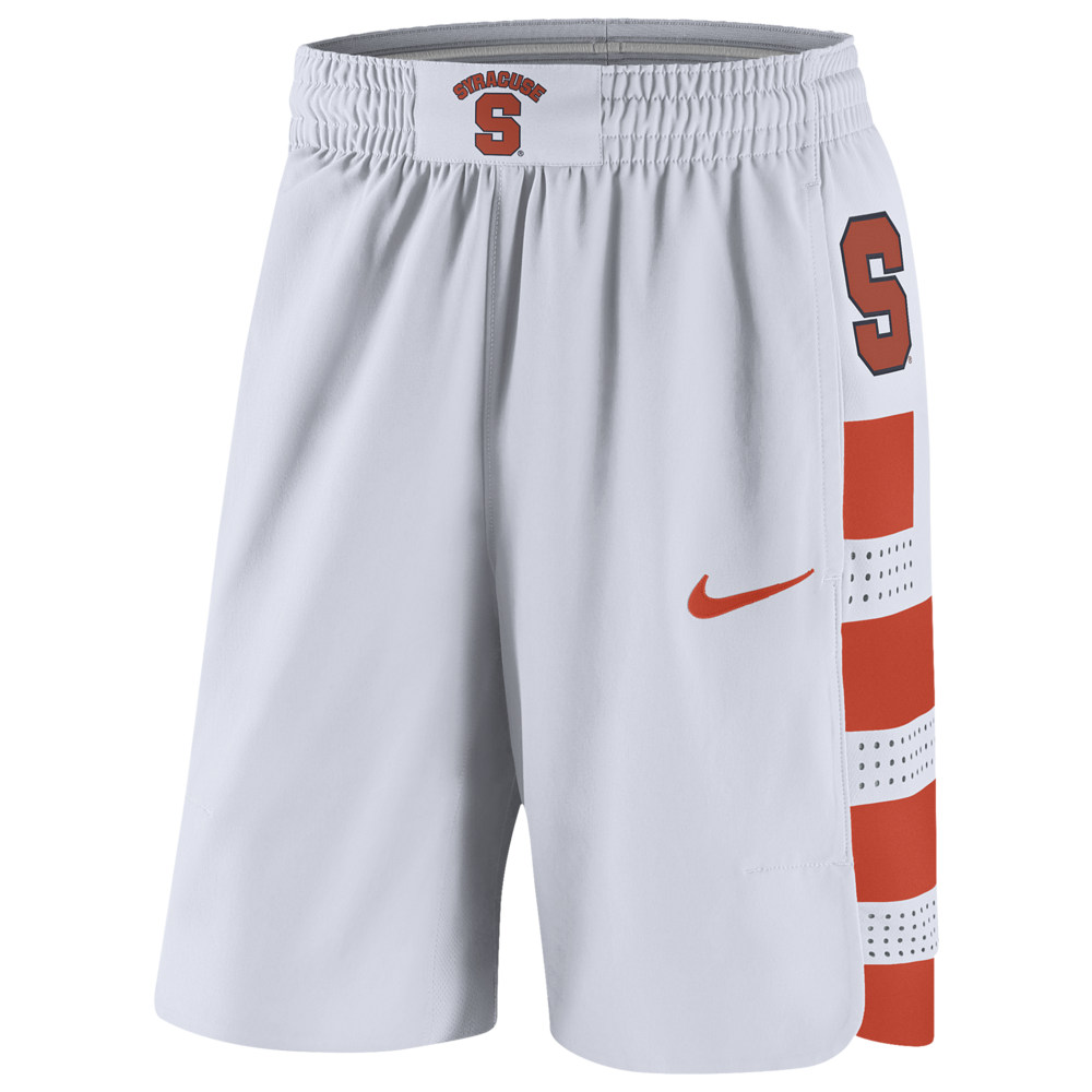 ナイキ Nike メンズ バスケットボール ボトムス・パンツ【College Authentic On Court Shorts】NCAA Syracuse Orange White
