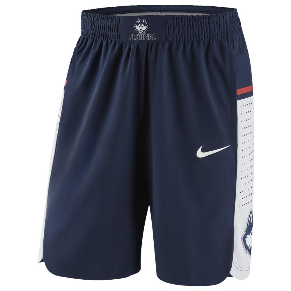 ナイキ Nike メンズ バスケットボール ボトムス・パンツ【College Authentic On Court Shorts】NCAA Uconn Huskies College Navy
